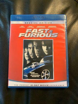 Fast and Furious CDs (Blu-Ray)