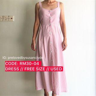 [SALE - FURTHER PRICE REDUCE] Pink Dress