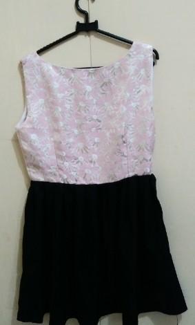 Flower Pink Dress #maudandan