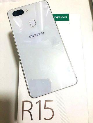 🚚 OPPO R15 128G 白