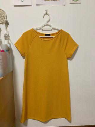 Zalora Mustard Dress