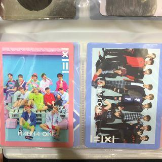 🚚 (wts) wanna one to be one group photocard