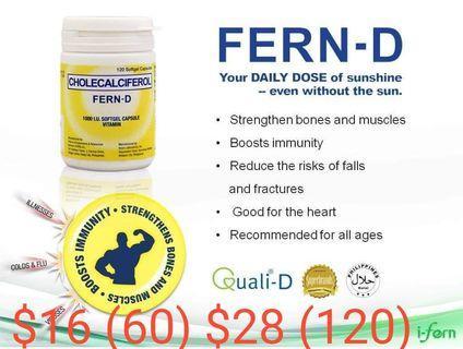 Fern D vitamins