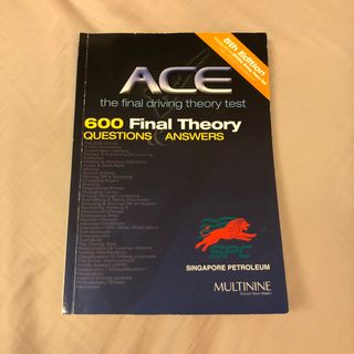 final theory test book | Home Appliances | Carousell Singapore