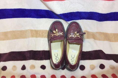 Women Shoes Maroon Glossy | Sepatu Cewe Mengkilap warna Maroon #mauthr