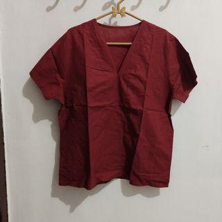 Maroon Blouse #mauthr