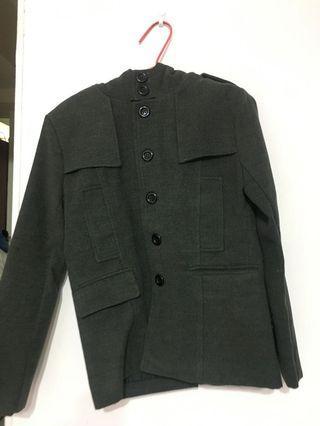 🚚 排扣 大衣 外套