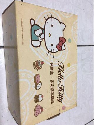 Hello kitty 保鮮盒+刨磨器