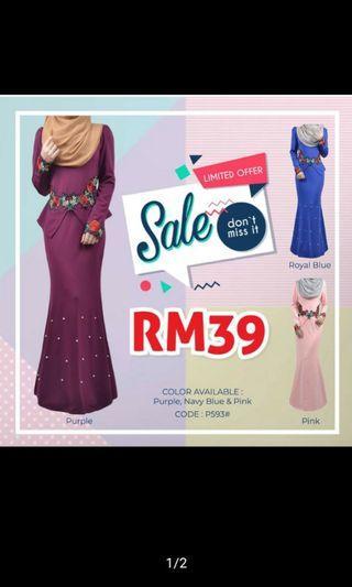 Dress Murah RM30