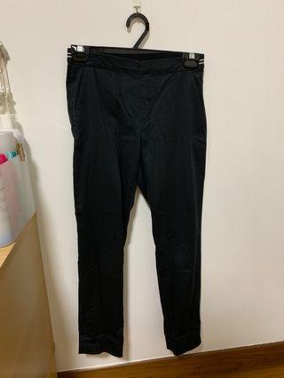 🚚 Uniqlo black work pants