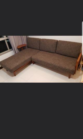 Brand new condition L shape sofa