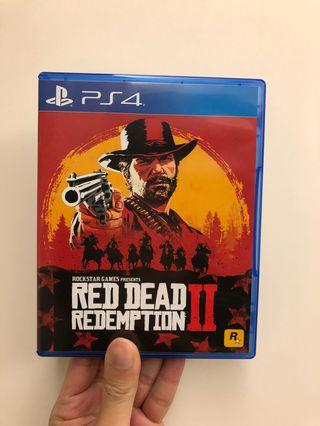 PS4 Red Dead Redemption 2 中文版