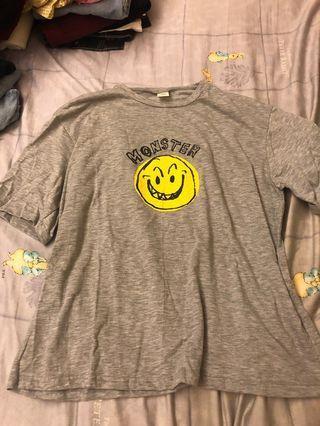 🚚 酷酷咧嘴微笑T恤