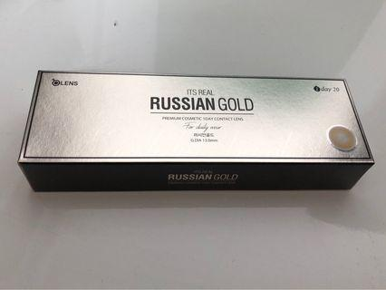 Russian Gold 1 Day contact lens
