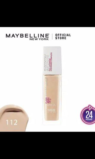 Maybelline Superstay Foundation 24h
