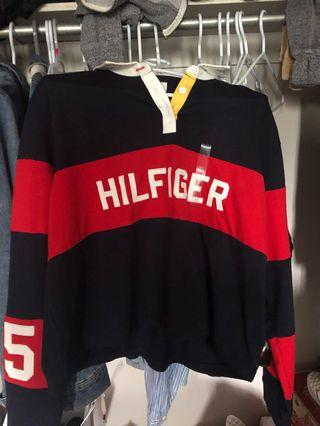 Tommy Hilfiger Long sleeve crop top