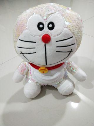 Doraemon sequin Plush Toy