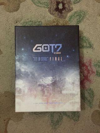 GOT7 Fly In Seoul Final DVD
