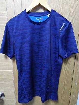 Reebok迷彩藍 運動衫 M碼