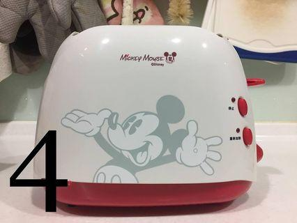 🚚 全新米老鼠Mickey Mouse烤麵包機