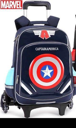 Marvel Trolley School Bag