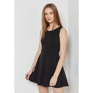 Cotton On Black Skater Sleeveless Dress