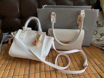 2個 two Samantha Thavasa bag 手袋
