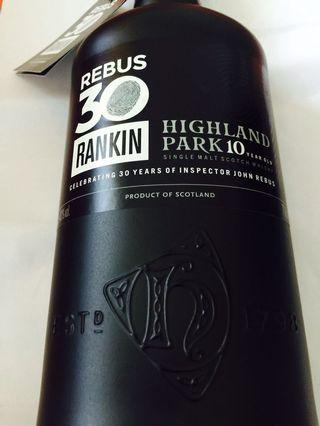 🚚 Highland park Fans ( Rebus 30 Rankin + The whiskey House)