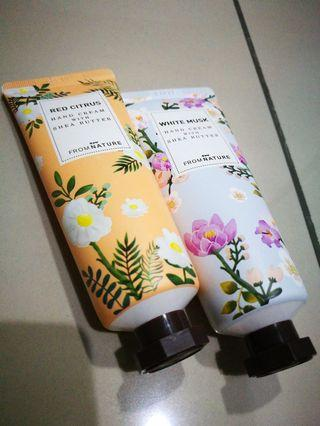 From nature hand cream