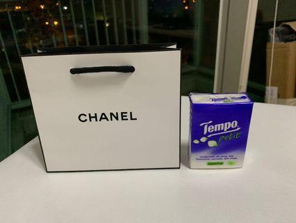Chanel 細紙袋