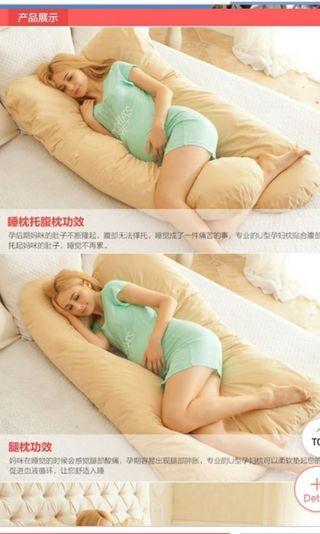 🚚 Maternity / Pregnancy / Nursing Pillow (In Blue)