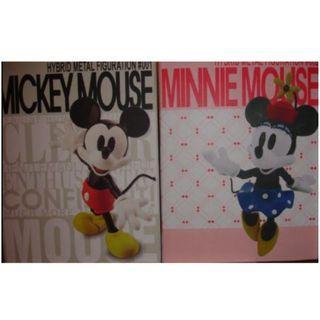 Hybrid Metal Mickey & Minnie
