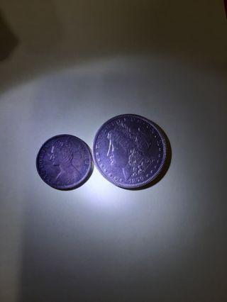 银币十大一仙38o元