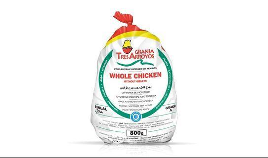 🚚 Frozen Whole Chicken