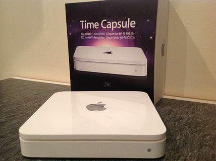 🚚 Apple time capsule 2 Tb : almost new