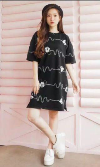 Mickey tery dress by Jessa colection