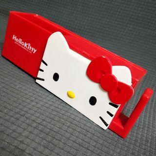 🚚 Hello Kitty卡通吸盤式牙刷架 凱蒂貓牙膏架牙杯架