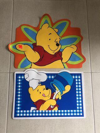 Winnie The Pooh Table Mats