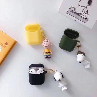 [PO]Cute snoopy peanuts airpods case
