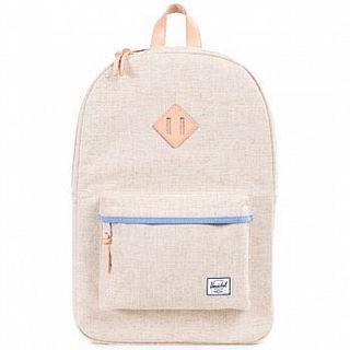 Herschel 米白色後背包 正品 筆電包 大容量