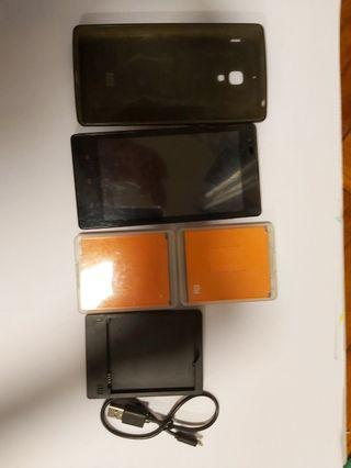 REDMI 1S 紅米1S 手機連充電座電池