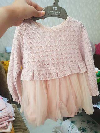 Baby girl dress 12 mo #mauthr