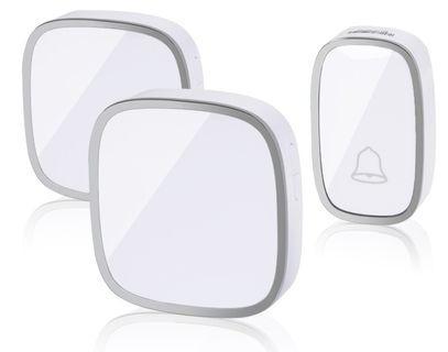 1🔥Professional Wireless Doorbell, Waterproof Smart Door Bell Plug-in Doorbell Household Electroni,Adjustable Sound Volume Door Bell UK Plug Wireless Door Bell