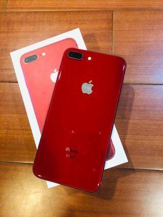 🚚 iPhone 8 Plus 256g 限量紅