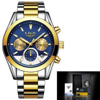 Mens chronograph dress watch