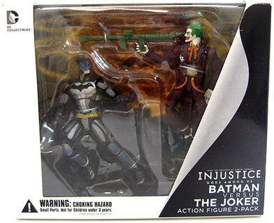 "DC Collectibles - Injustice - Batman V.S Joker 3.75"" (訂)"
