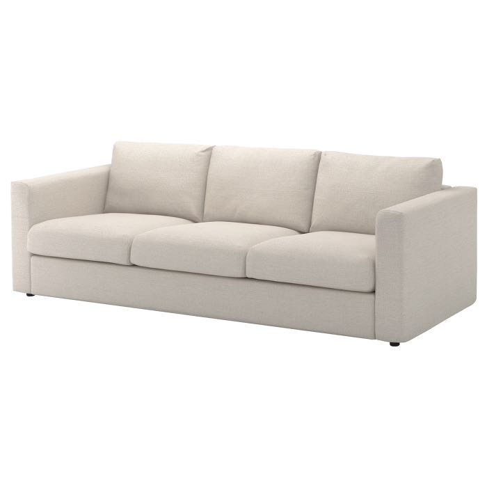 Cool 3 Seater Sofa Ikea Vimle Beige Download Free Architecture Designs Rallybritishbridgeorg