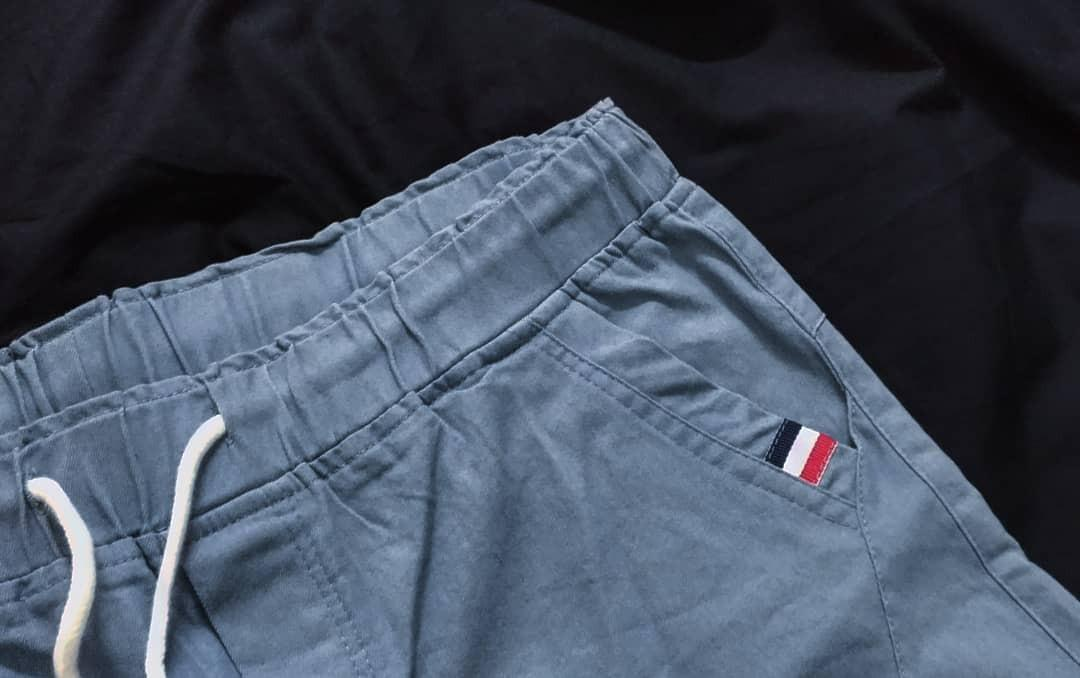 直筒褲(天空藍)