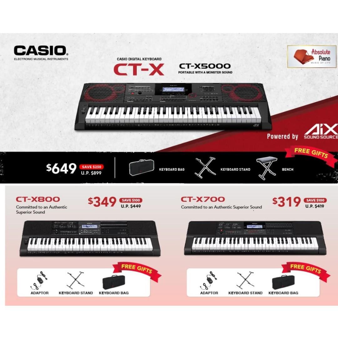 Casio Music Sale @ Viva Business Park! New Casio Contemporary Digital Piano CDP S150
