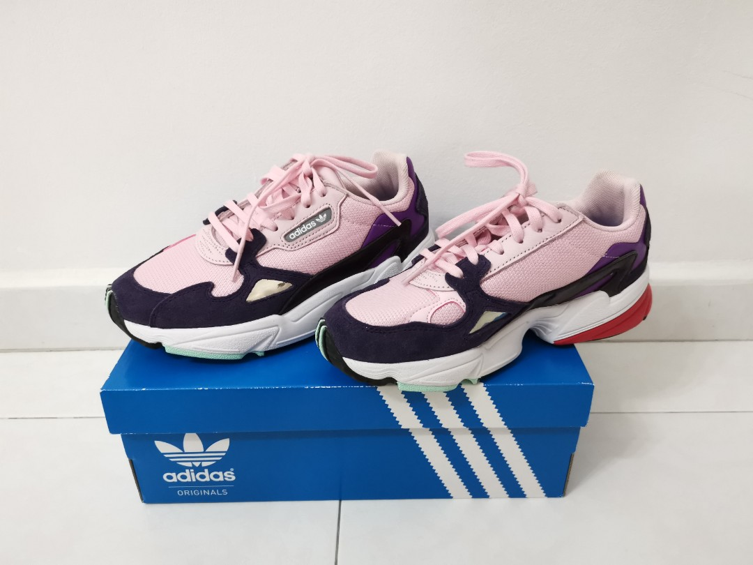 Adidas Falcon Shoe Pink Hot Color Women S Fashion Shoes